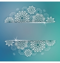Abstract Christmas background with linear vector