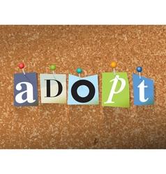 Adopt Concept vector