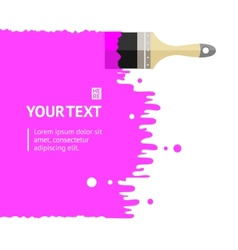 brush background vector image