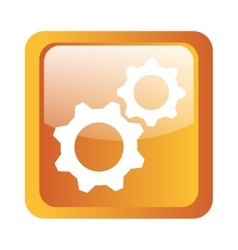 gears icon symbol design vector image