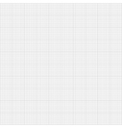 Graph seamless millimeter grid paper vector image