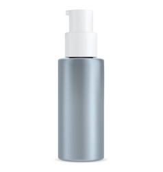 Moisturizer bottle pump dispenser cosmetic lotion vector
