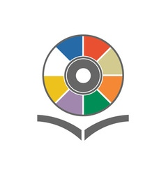 music-library vector image
