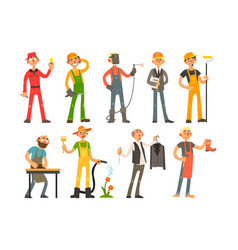 People of different professions and occupations in vector