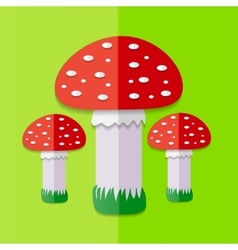 Red Mushroom vector image