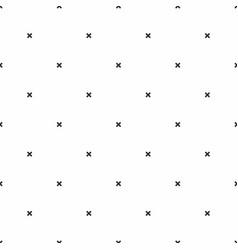 seamless pattern geometric monochrome minimalistic vector image