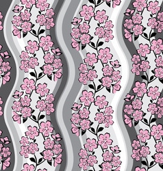 sakura background vector image