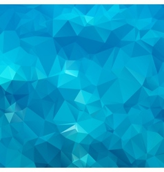 Abstract blue background polygon vector image