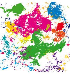 bright colored spots vector image