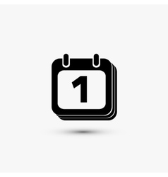 Calendar black iconRVSGPIWYRYVLYOWVZCYS vector