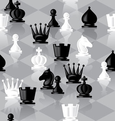 chess seamless vector image