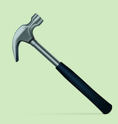 construction tool hammer on a white background vector image