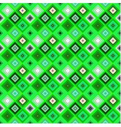 green geometrical seamless diagonal square vector image