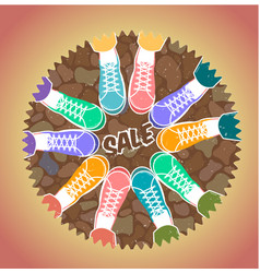 icon of friendship sale vector image