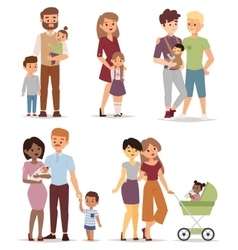 Different family vector