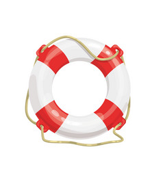Life buoy icon i vector