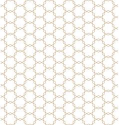Seamless japanese geometric pattern kumiko in vector