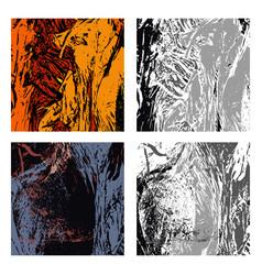 set of textures 2 vector image