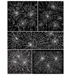web background pattern set ii vector image vector image