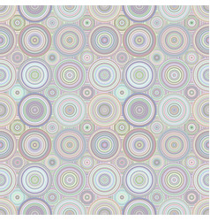 Abstract repeating circle pattern - background vector