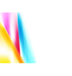 bright abstract colorful smooth gradients vector image