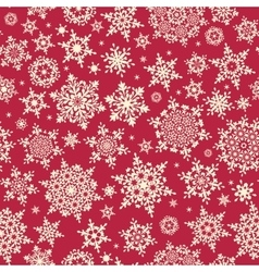 christmas repeating pattern eps 10 vector image
