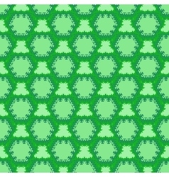 green cell seamless pattern vector image