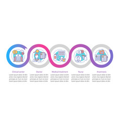 Medicine and healthcare infographic template vector