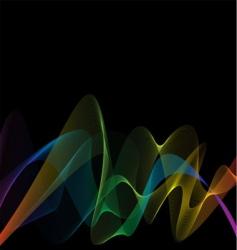 rainbow weave vector image