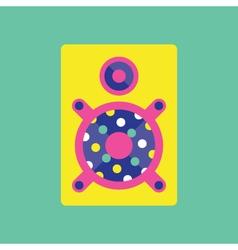 Speaker icon Speaker music vector image