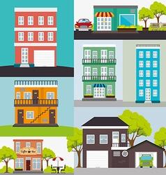 Urban design vector image