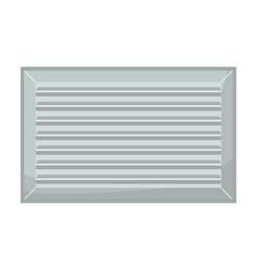 Ventilation grate iconcartoon icon vector