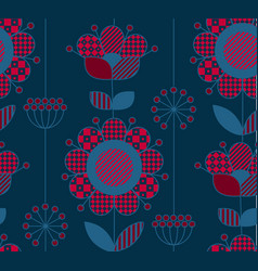 Rustic style decorative surface design inspired vector