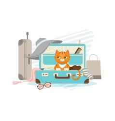 Summer vacation concept vector