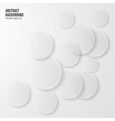 Abstract background Gray Circles vector