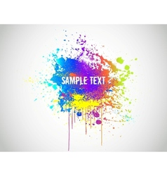 Abstract Paint Splash Background vector