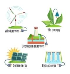Alternative energy source set vector