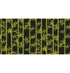 Bamboo seamless vertical pattern vector