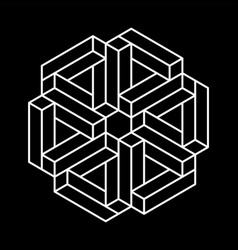 Impossible shapes optical vector