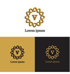 logo design different vector image