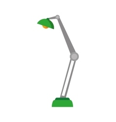 office lamp isolated icon vector image