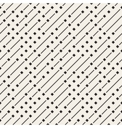 Seamless geometric diagonal irregular dash vector