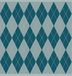 seamless geometric pattern plaid cell diagonal vector image