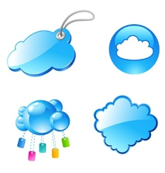 tag cloud icons vector image