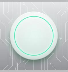 Technology digital future modern circle circuit vector