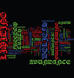 Authenticity freedom text background word cloud vector