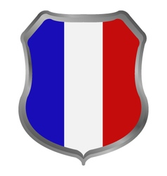 flag of france vector image vector image