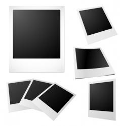 printed photos vector image vector image
