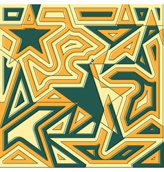 Abstract star background Original decoration vector image vector image