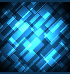 technology future diagonal rectangle light stripe vector image vector image